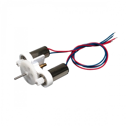 MinimumRC Dual 716 brushed motor gear box
