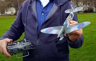 MinimumRC Spitfire Build and Maiden Flight