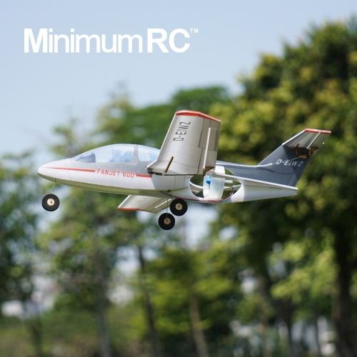 Fan-Jet 600 micro EDF RC airplane