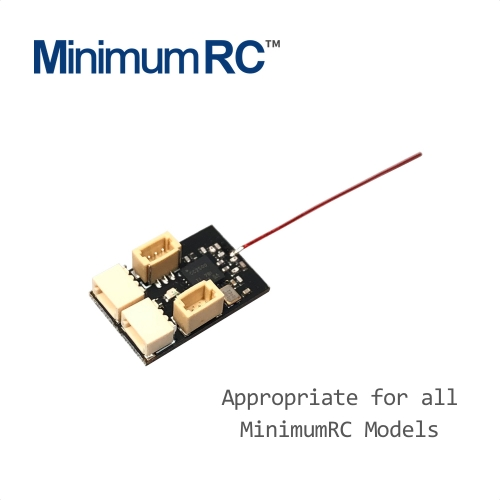 2nd Generation Micro 4CH receiver with build-in 5A brushed ESC