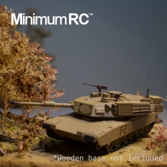 Micro M1A2 Abrams 1/72 RC Tank 3.5 Channels Exhibition Class Ready to Run